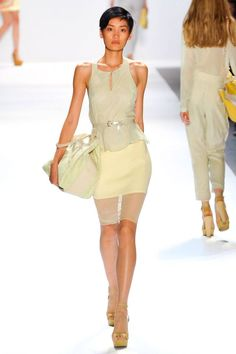 Charlotte Ronson.  the sheer of the bottom is beautiful