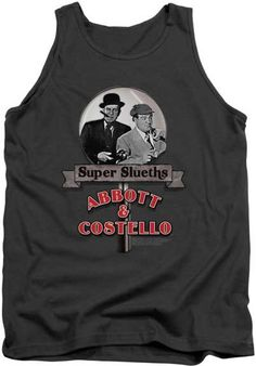 SUPER SLEUTHS MENS TANK TOP