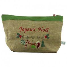 298112808876 Trousse personnalisable spéciale Noël.  cadeau  gift  trousse  broderie   handmade  creationsfrancaises  embrodery  broderiepersonnalisée   ideecadeau   ...