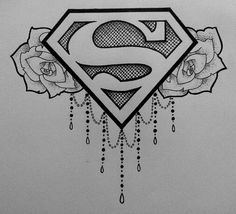 Superwoman Tattoo Designs