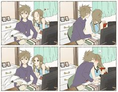 anime funny couple - Google zoeken