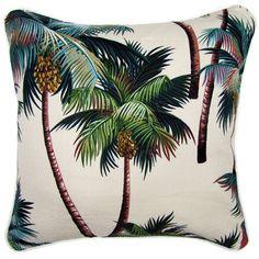 palms cushion #summer #beach