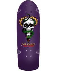 Bones Brigade® Mike McGill Skull & Snake Reissue Deck Purple - 10 x 30.125