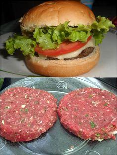 Como fazer hambúrguer caseiro fácil! – Manual da Cozinha