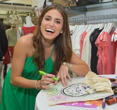 FOK Nikki Reed signs autographs at the Kanon-sponsored launch party for George Gina and Lucy's 'Originals Collection'