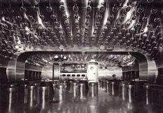 Space Capsule Discotheque. Akasaka, 1960s. Kurokawa. Stainless steel