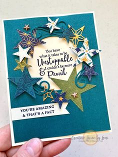 Star Cards, Christmas Mom, Fb Page, You're Awesome, Pick One, Stampin Up Cards, Happy Friday, Facts, My Favorite Things