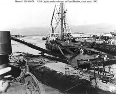 U S S Arizona Salvage - - Yahoo Image Search Results Uss Oklahoma, Remember Pearl Harbor, Uss Arizona, Pearl Harbor Attack, Navy Ships, Shipwreck, Battleship, Yahoo Images, Historical Photos