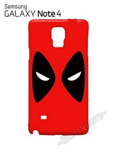 Deadpool Mask Face Samsung Galaxy Note 4 Hardshell Case Cover Dead Pool