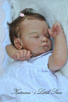 Reborn baby Prototype David by Tina Kewy (now Dionne)~Katerina`s Little Stars~