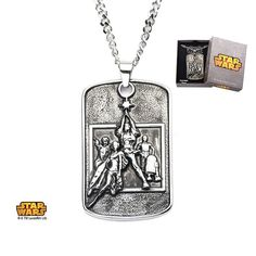 Sterling silver tattoo gun pendant cw chain silver tattoo and tattoo star wars jewelry poster relief dog tag pendant mozeypictures Gallery