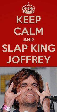 Game of Thrones~~Slap Him HARD!!!!