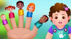 The Finger Family Song | ChuChu TV Nursery Rhymes & Songs For Children