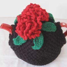 Crochet tea cosy. Red poppy.  Very chic. £10.00