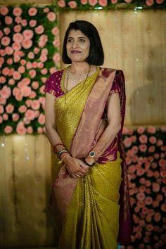 Indian Bridal Sarees, Indian Silk Sarees, Pattu Saree Blouse Designs, Bridal Blouse Designs, Engagement Dress For Groom, Rasheeda, Silk Saree Kanchipuram, Stylish Blouse Design, Saree Models