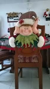 Resultado de imagen para cubresillas duende navidad