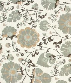 Robert Allen Faded Floral Dew Fabric