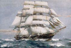 Cutty Sark – последний чайный клипер, построенный еще в 1869 году и сохранившийся до сих пор, один из самых знаменитых парусных кораблей мира.об этом паруснике знают во всем мире только благодаря тому, что он последний. Клипер «Катти Сарк» сошел со стапелей 23 ноября 1869 года в Шотландии в городе Дамбартон (Dumbarton)