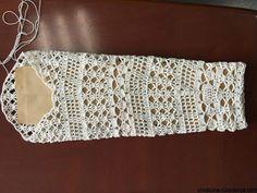 Blusa branca em crochê | crochelinhasagulhas | Bloglovin'