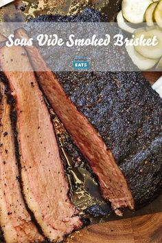 Consistently moist brisket with a smoky bark.