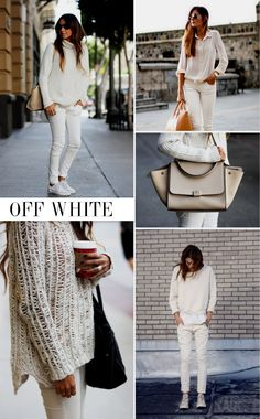 OFF WHITE JEANS - Fanny Staaf