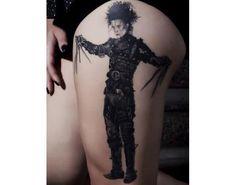 11 tatuajes inspirados en Edward, el joven manos de tijera - Batanga