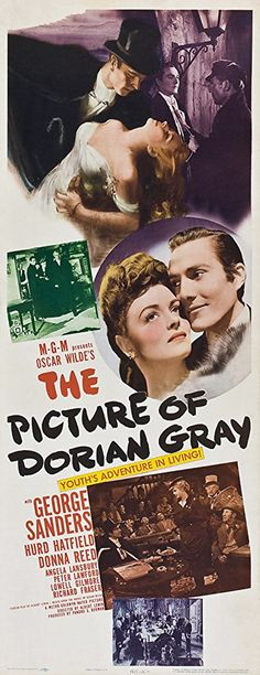The Picture Of Dorian Gray (1945) - Hurd Hatfield, George Sanders, Donna Reed, Angela Lansbury #MovieThePictureOfDorianGray1945