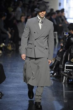 Jean Paul Gaultier Fall/Winter 2012 Menswear Collection