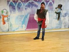 Frozen Angels From the Realms of Glory Christmas Carol Dance How To | Adventures In Dance Kristoff