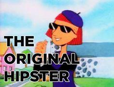 The ORIGINAL hipster!