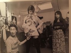 """""""Small moments of happiness occurred many times while working with David,"""" recalls Yacco Takahashi, a Harajuku pioneer and Japan's first fashion stylist, who first met the artist in 1972 and introduced him to Kansai Yamamoto, the designer responsible for some of his most famous looks."""