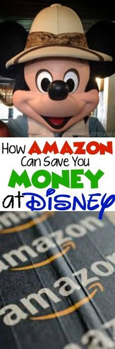 How Amazon Can Save You Money at Disney by shipping snacks and large items. How to save money on food and baggage costs at the airport.