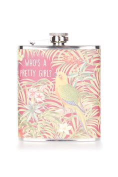 Parrot Hip Flask - New In- Topshop Europe