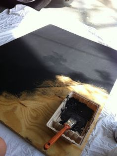 Outdoor Chalkboard.... My Spring Project!