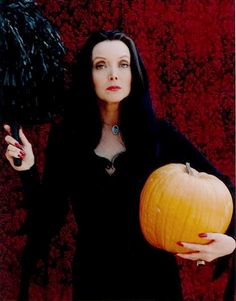 Morticia Addams (Carolyn Jones)- she was a goddess to me when I was a child. I wanted to look like her so much!
