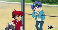 Tenkai Knights - Guren and Ceylan