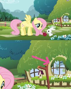 This so cute fluttershy and discord =