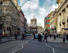 Castle st named after the castle that stood where city hall stands now Liverpool, England Liverpool Town, Liverpool England, Leeds England, Liverpool History, Oh The Places You'll Go, Places To Visit, All I Ever Wanted, Future Travel, Summer Travel