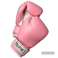 ProForce Leatherette Boxing Gloves - Pink with White Palm - Pink - 14 oz. - http://www.exercisejoy.com/proforce-leatherette-boxing-gloves-pink-with-white-palm-pink-14-oz/boxing/