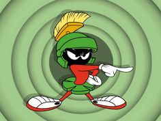 Marvin The Martian... Looney Tunes...