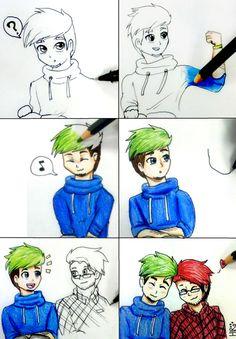 Drawn to Each Other by Hiro-Uzumaki on DeviantArt