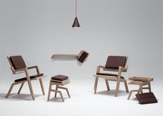 'Leather & Wood' collection by Kenny Vanden Berghe (BE)