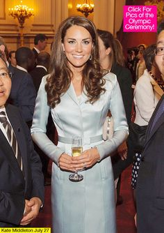 Kate Middleton Opening Ceremony Outfit London Olympics 2012.  I LOVE how she is always wearing Diana's ring!
