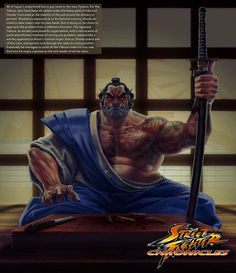 Street Fighter Chronicles Series by Arman Akopian