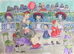 """""""Une Après a Midi, Aux Jardin""""; a Study..."""