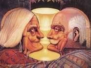 Old Couple - optical illusion