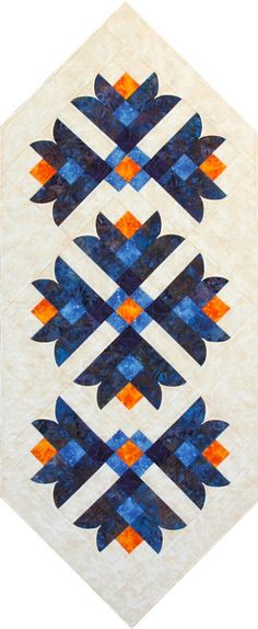 Southwind Designs - Peeled Back curved piecing - Bell Flower