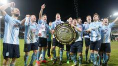 Ballymena United beat Linfield in dramatic Co Antrim Shield Final