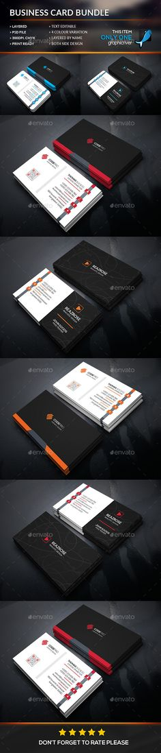 Simply Corporate Business Card Bundle Template #design Download: http://graphicriver.net/item/simply-corporate-business-card-bundle/12372013?ref=ksioks