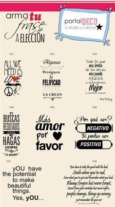 Vinilos Frases Y Decoraciones En Paredes Diseños Nuevos!!! - $ 165,00 en MercadoLibre
